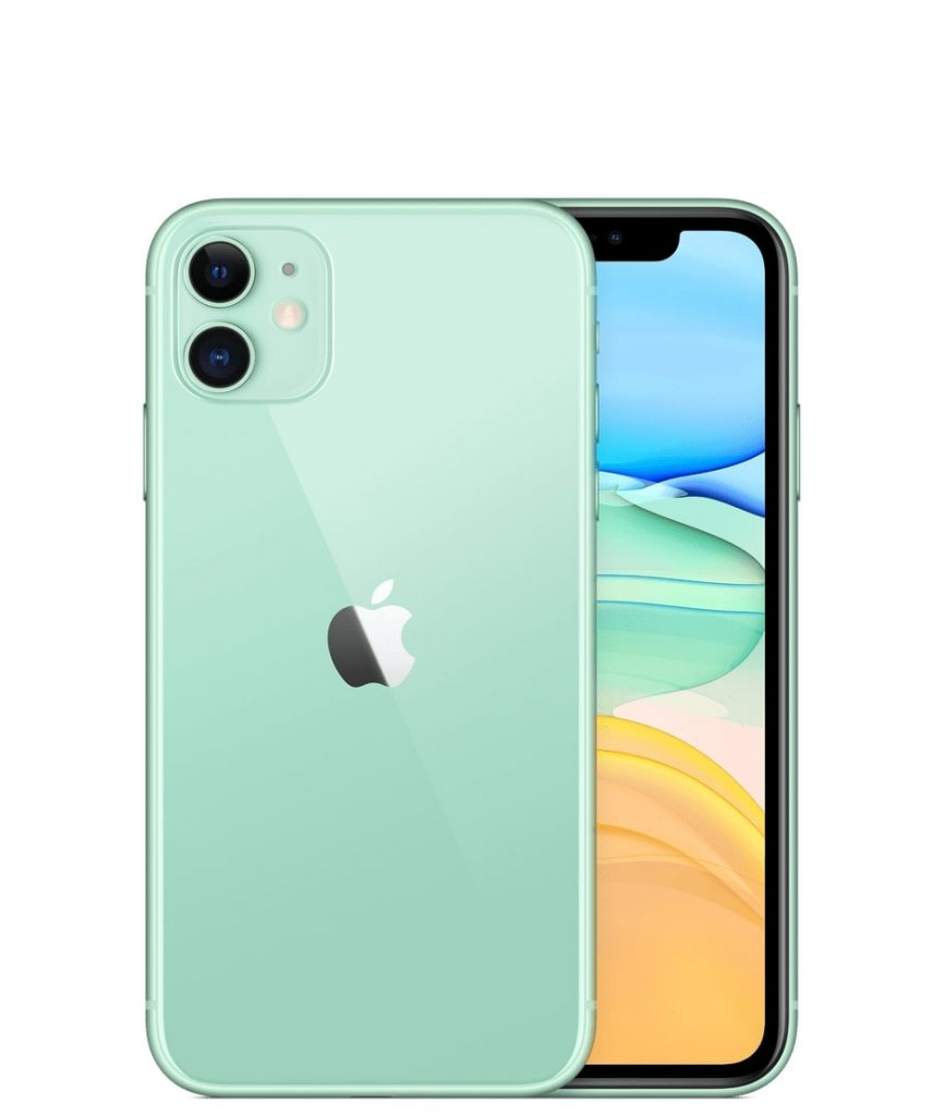 Green color iPhone 11