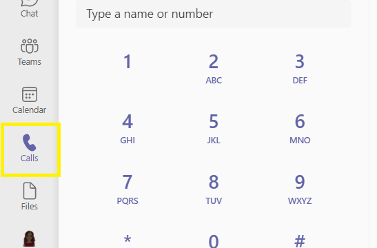 Microsoft Teams' Call Button Missing